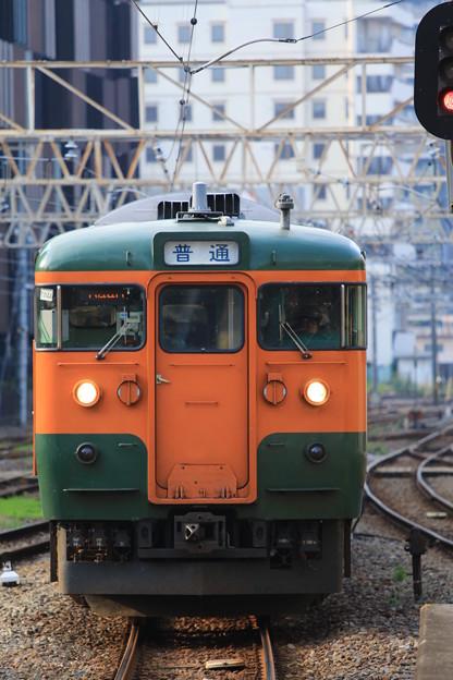115系面縦@高崎駅