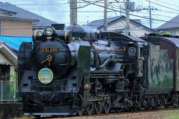D51 498 SLレトロ碓氷