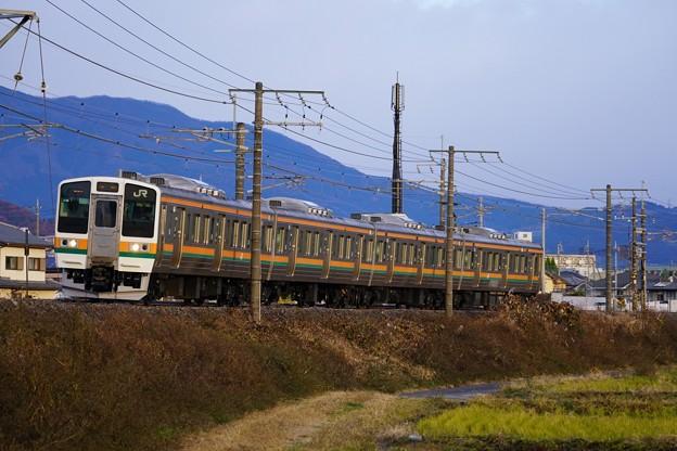 Photos: 211系@渋川~八木原