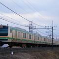 Photos: E231系@ワシクリ黒小屋踏切