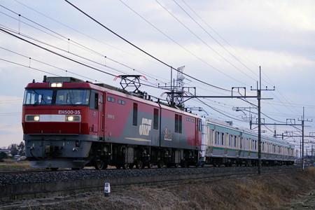 9171レ EH500-35牽引 E721系甲種輸送@ワシクリ黒小屋踏切
