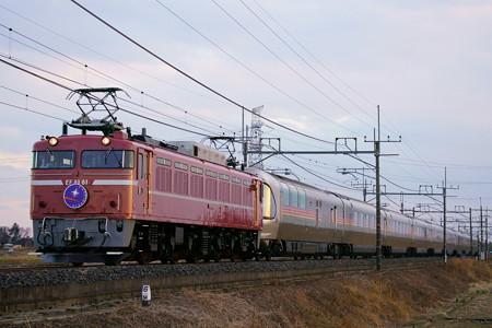 8009レ EF81-81+E26系 カシオペア紀行@ワシクリ黒小屋踏切