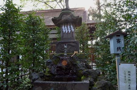大國魂神社 水神社