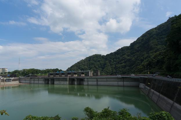 【津久井湖の城山ダム】1