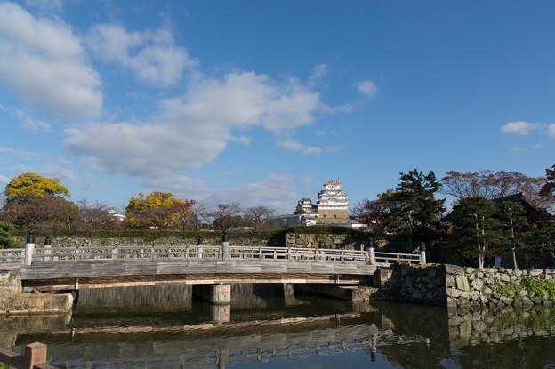 姫路城【05_桜門橋と姫路城】