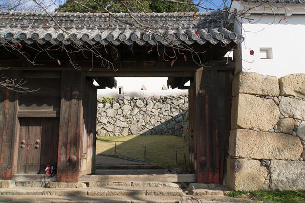 姫路城【12_ろの門】