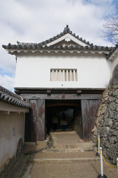 姫路城【16_にの門】