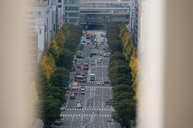 姫路城【31_天守から見る姫路駅】