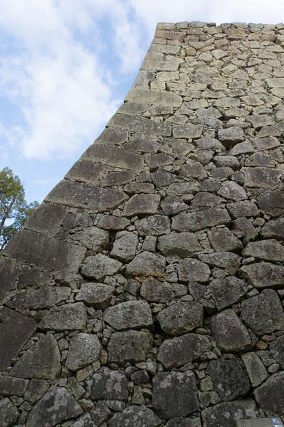 姫路城【40_二の丸から見る城壁】