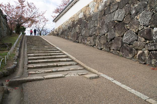 姫路城【41_西の丸へ向かう階段】