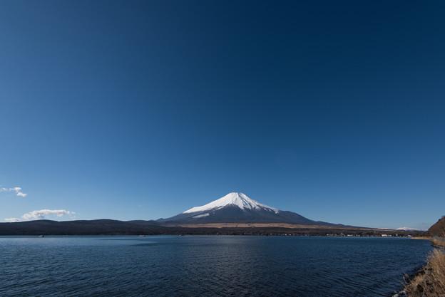 富士山【山中湖からの眺め】2