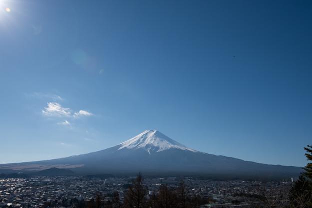 富士山【新倉富士浅間神社からの眺め】4