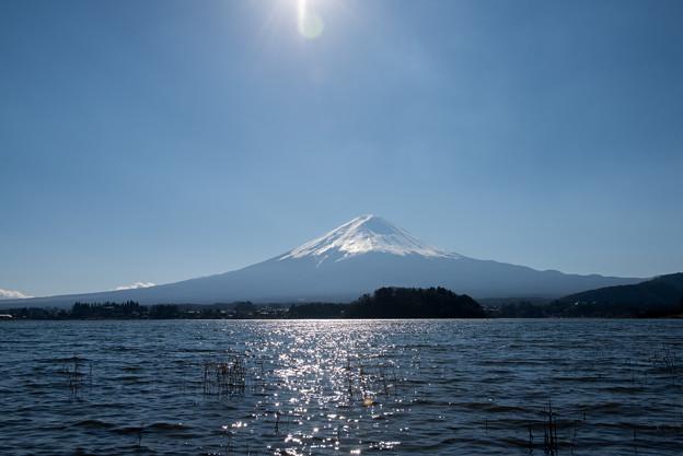 富士山【河口湖からの眺め】1