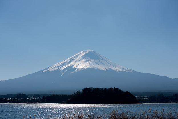 富士山【河口湖からの眺め】3