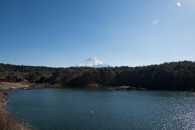 富士山【精進湖からの眺め】2