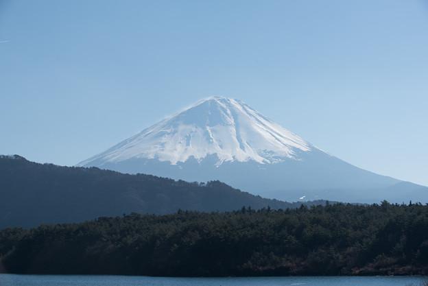 富士山【精進湖からの眺め】3