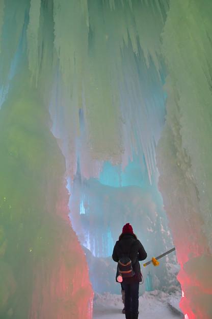 層雲峡氷瀑祭り  (4)