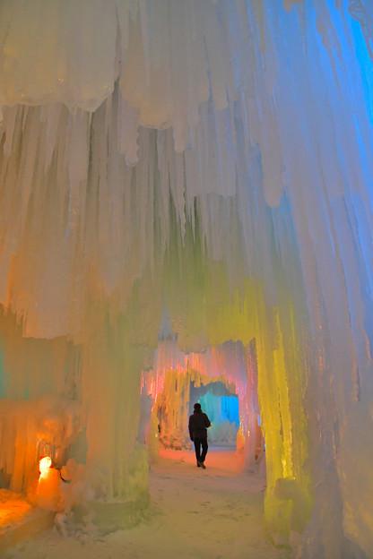 層雲峡氷瀑祭り  (1)