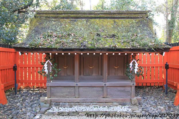 IMG_0714賀茂御祖神社(下鴨神社)・河合神社・三井社(三塚社)