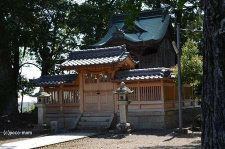 観音の里めぐり 南郷会館 聖観音立像 八坂神社 DSC_0098