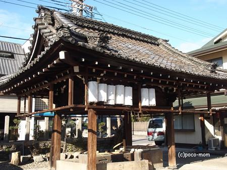 瀧尾神社手水舎 PC110831