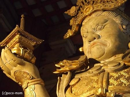 東大寺大仏殿 多聞天 P1220981