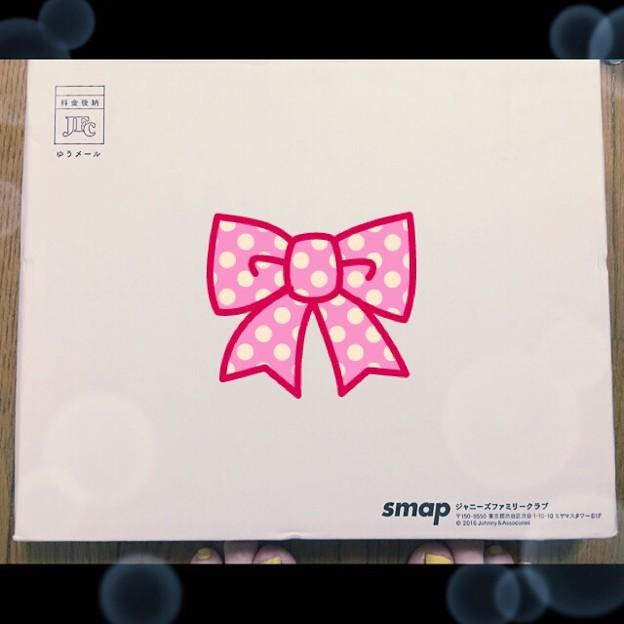 受け取った #SMAP25周年記念品