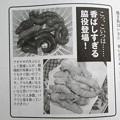 写真: ユムシの天ぷら