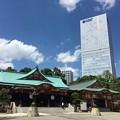 写真: 日枝神社 社殿