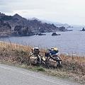 写真: 外海府海岸