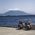 Photos: 礼文島 香深港より利尻島を望む