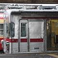 長野電鉄 須坂駅に停車中の3500系
