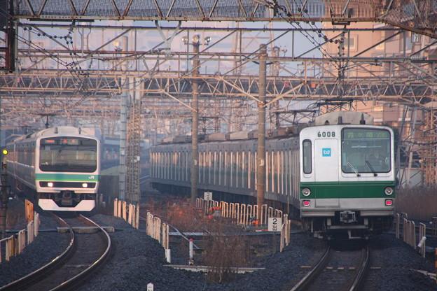 E231系&東京メトロ6000系