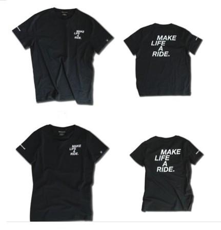 MAKE LIFE A RIDE. Tシャツ