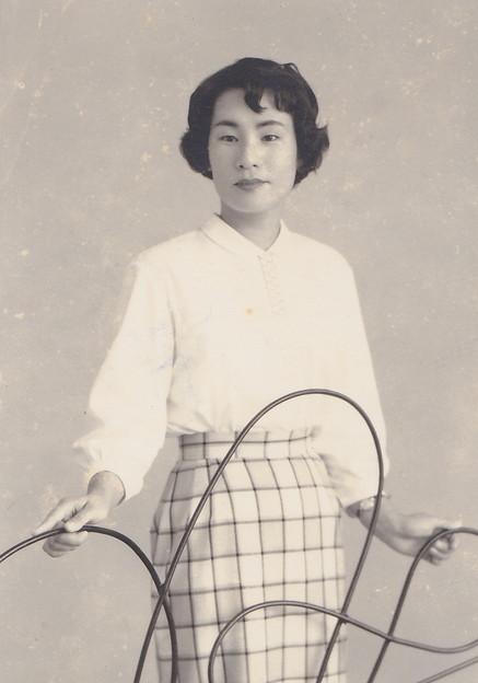 亡母のお見合い写真