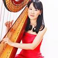 写真: 丸山京子 まるやまきょうこ ハープ奏者 ハーピスト        Kyoko Maruyama