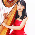 Photos: 丸山京子 まるやまきょうこ ハープ奏者 ハーピスト        Kyoko Maruyama