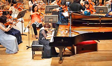 大森晶子 おおもりあきこ ピアノ奏者 ピアニスト