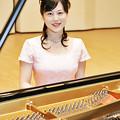 写真: 神林杏子 かんばやしきょうこ ピアノ奏者 ピアニスト     kyoko kanbayashi
