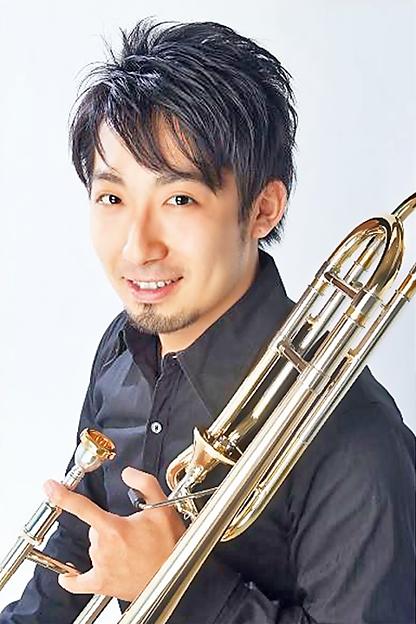 小篠亮介 こしのりょうすけ  トロンボーン奏者        Ryousuke Koshino