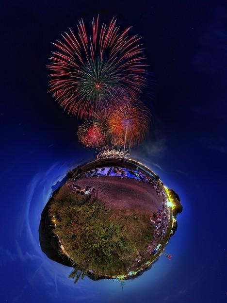 Photos: 2016年7月30日 安倍川花火大会 Little Planet
