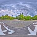 2015年8月21日 駿府城天守閣跡 360度パノラマ写真 HDR