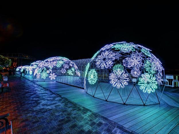 「清水港 海と光の空間」 清水港・エスパルスドリームプラザのイルミネーション(3)