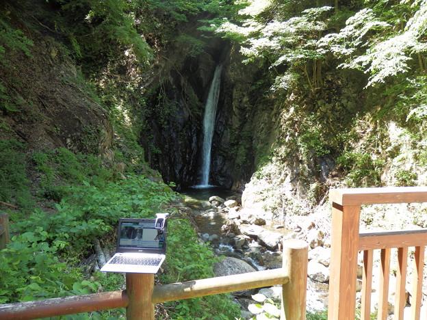 エビラ沢の滝