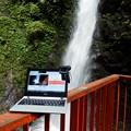 塩川滝とニコ生配信中のPC