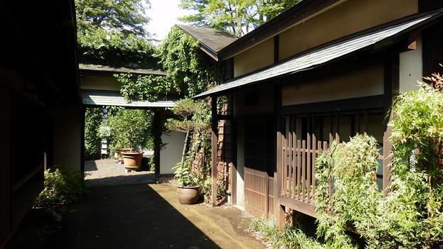 昔の日本の街並み風のセット