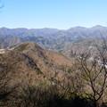 後で通る菊花山が見えてきました^^