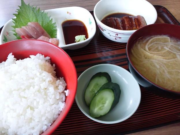 富山の刺身定食2