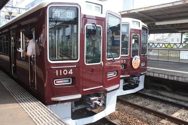 阪急1000系1004F・1003F