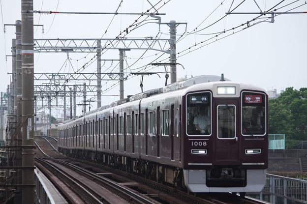 阪急1000系1008F